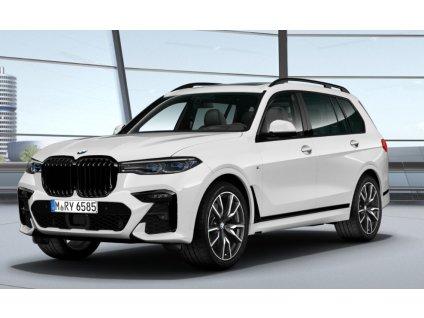 BMW X7 40d xDRIVE Mpaket - bílá metalíza Mineral White