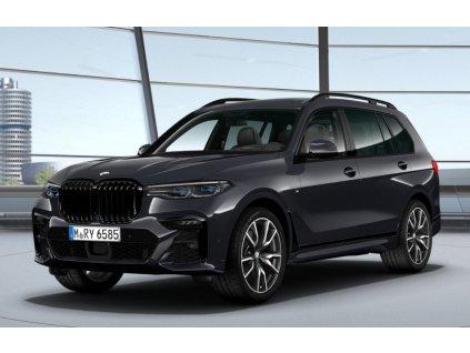 BMW X7 40d xDRIVE Mpaket - šedá Arctic metalíza