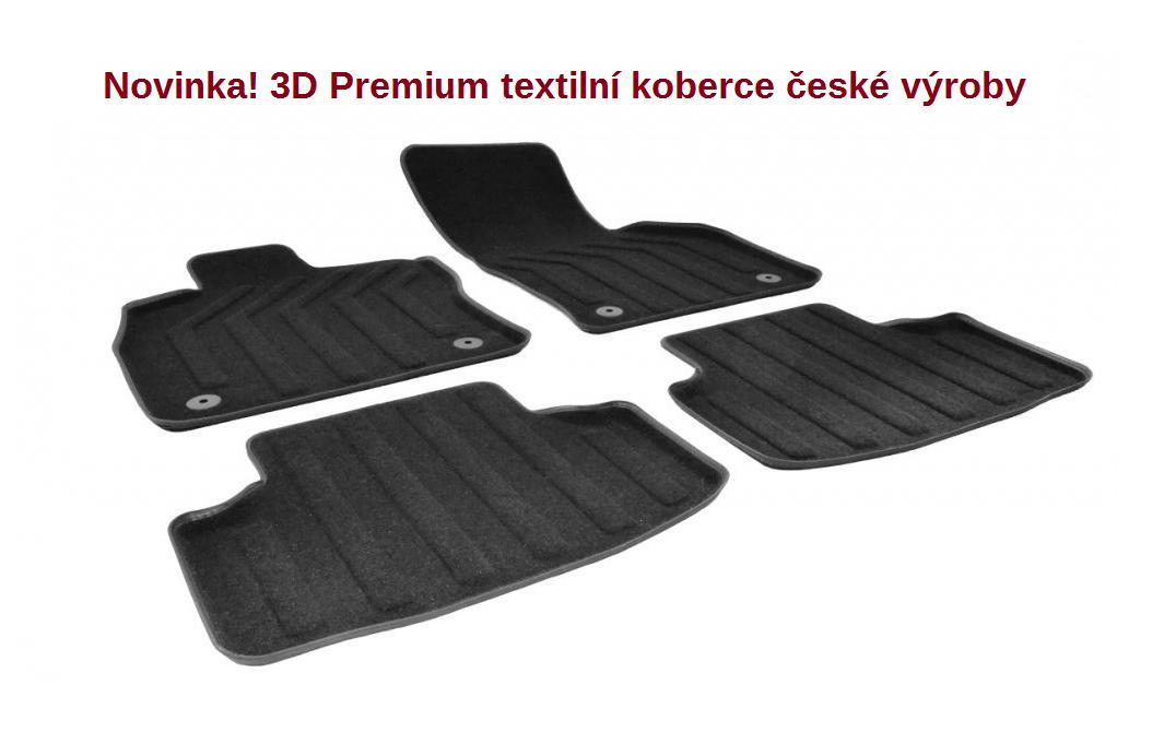 3D Premium textilní koberce