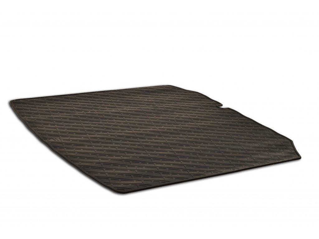 Gumový koberec do kufru Škoda FABIA II Combi