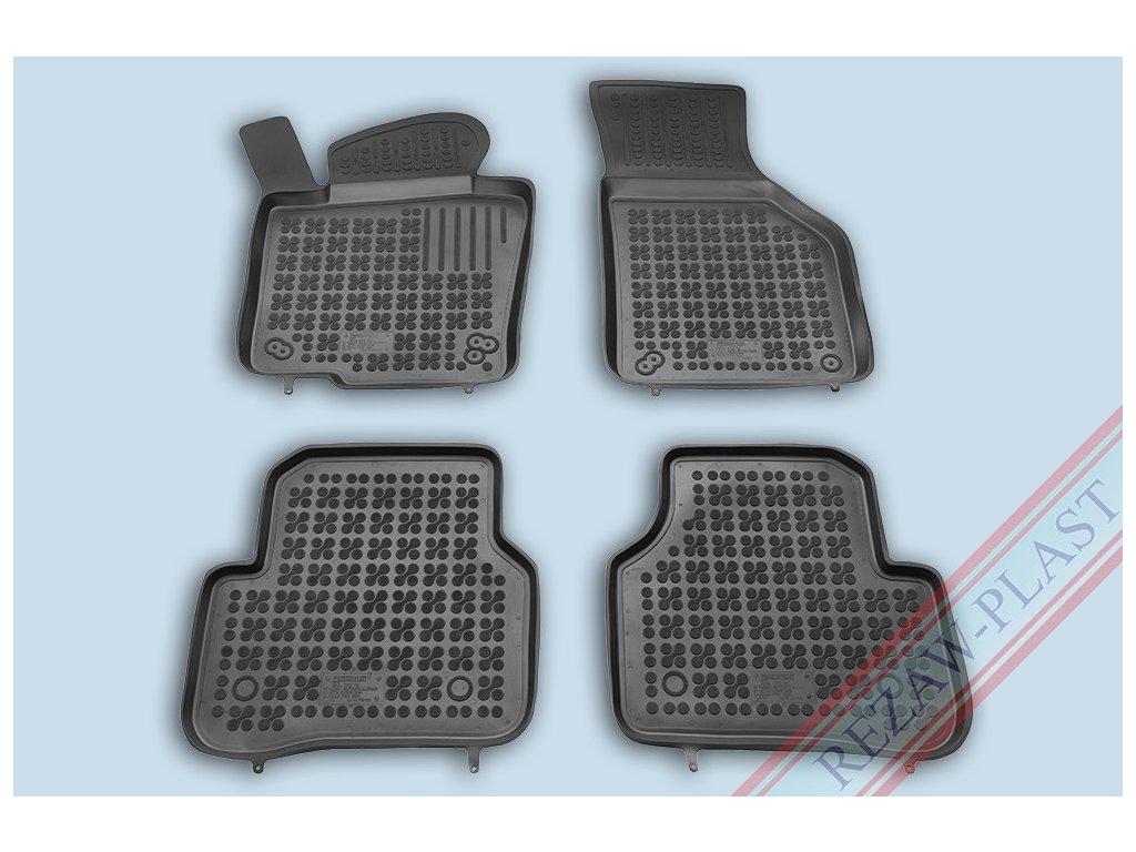 Gumové koberce VW PASSAT CC 06/2008-2012 se zvýšeným okrajem
