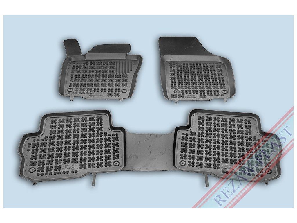 Gumové koberce Seat ALHAMBRA 2010- se zvýšeným okrajem