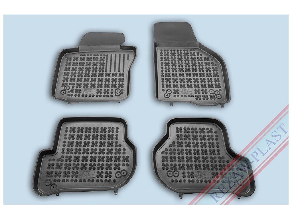 Gumové koberce Seat LEON II 2005-2013 se zvýšeným okrajem