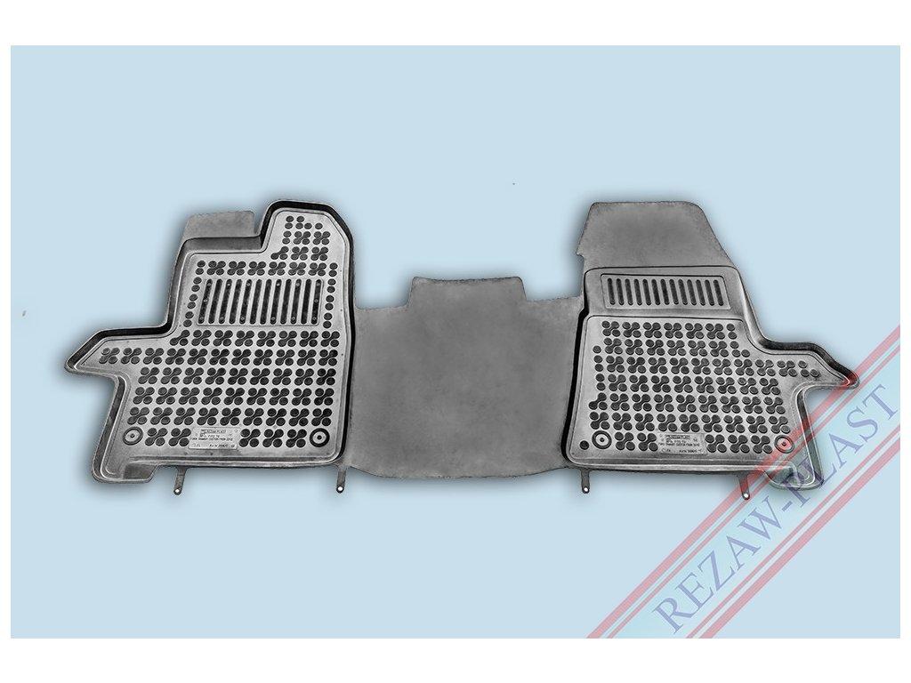 Gumové koberce Ford TRANSIT 2012- se zvýšeným okrajem