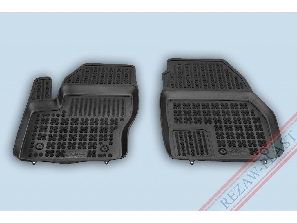 Gumové koberce Ford TRANSIT CONNECT II 2013- přední se zvýšeným okrajem