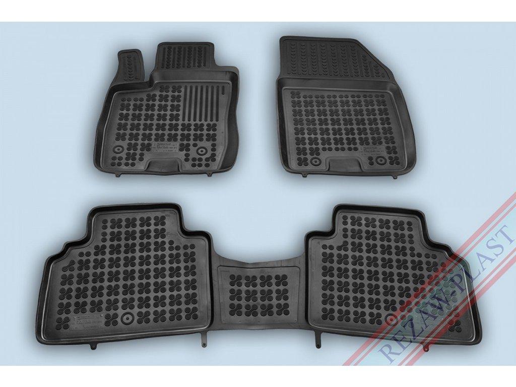 Gumové koberce Ford TOURNEO COURIER 2014- se zvýšeným okrajem
