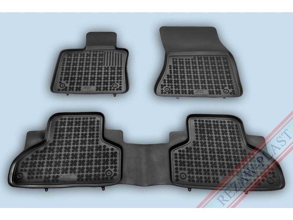 Gumové koberce BMW X5 F15 2013- se zvýšeným okrajem