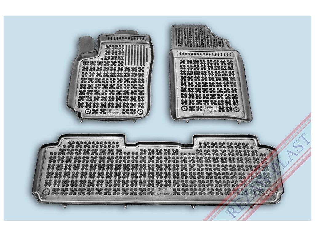 Gumové koberce Citroen XSARA PICASSO 2000-2010 se zvýšeným okrajem