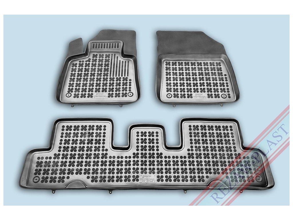 Gumové koberce Citroen C4 PICASSO 7m 2013- se zvýšeným okrajem