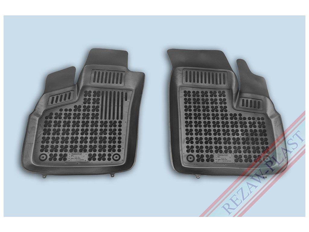 Gumové koberce Fiat DOBLO 2006-2010 přední se zvýšeným okrajem