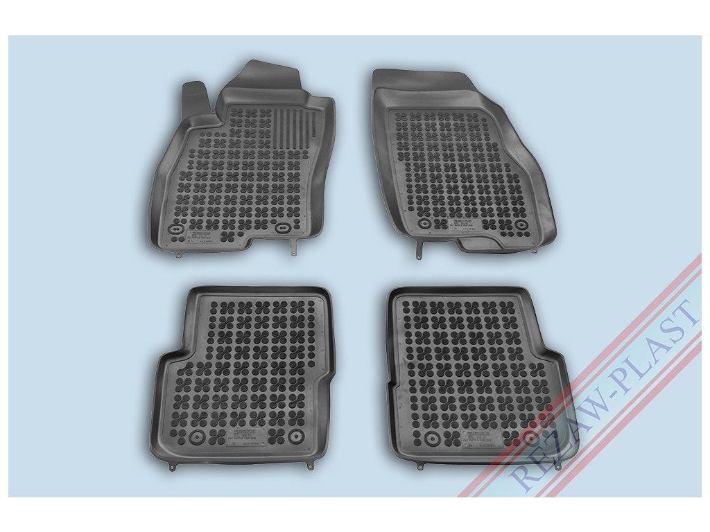 Gumové koberce Fiat PUNTO 2012- se zvýšeným okrajem