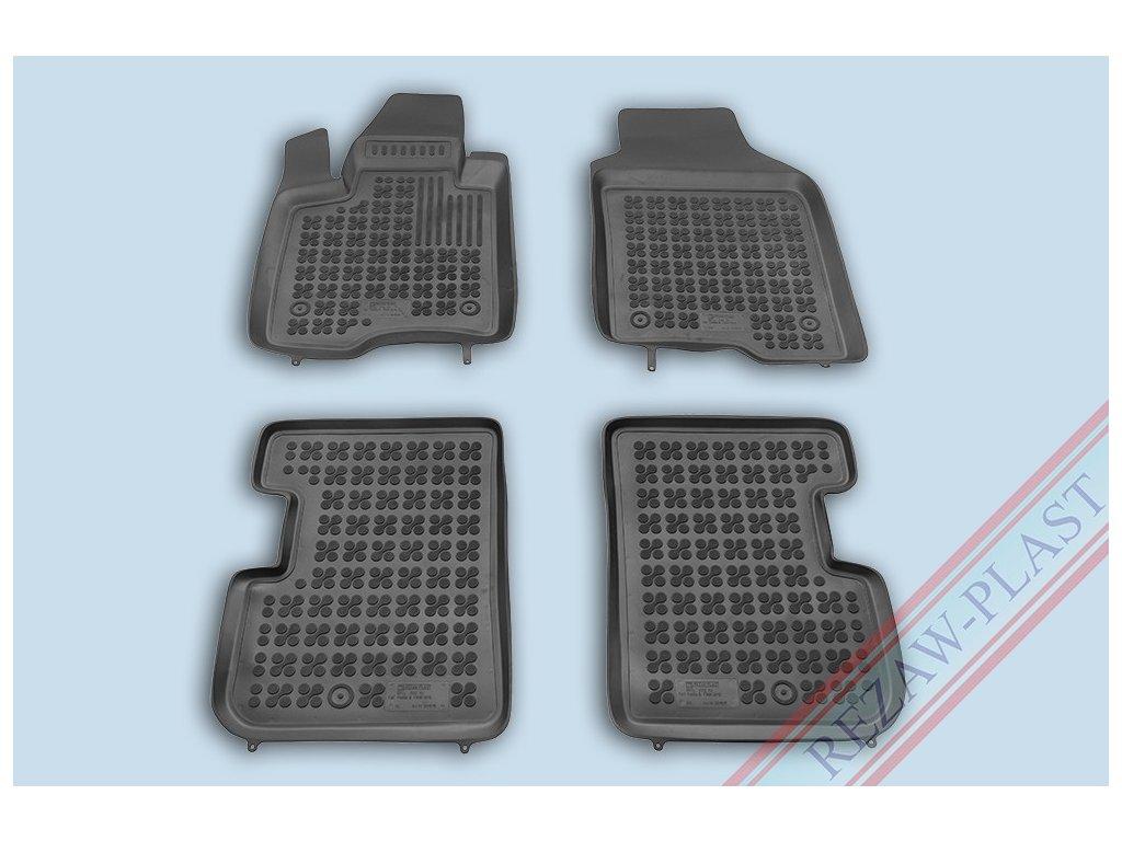 Gumové koberce Fiat PANDA 2012- se zvýšeným okrajem