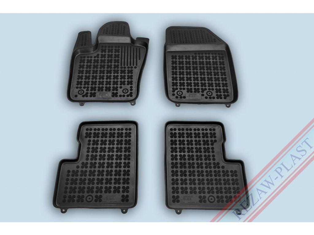 Gumové koberce Fiat 500X 2014- se zvýšeným okrajem