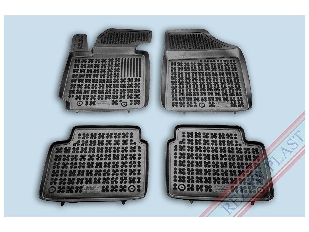 Gumové koberce Hyundai VELOSTER 2011- se zvýšeným okrajem