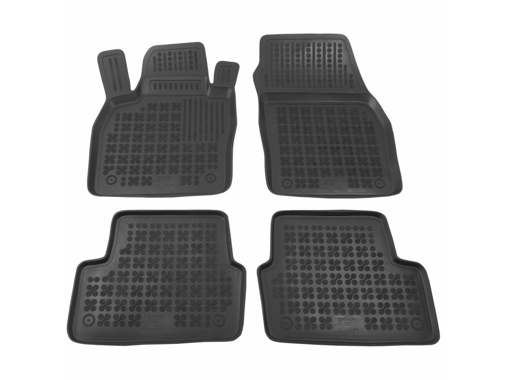 Gumové koberce Seat IBIZA 2017- se zvýšeným okrajem