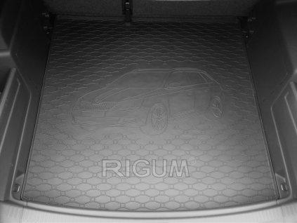 Gumová vana do kufru Škoda FABIA III Combi 2014- dolní dno