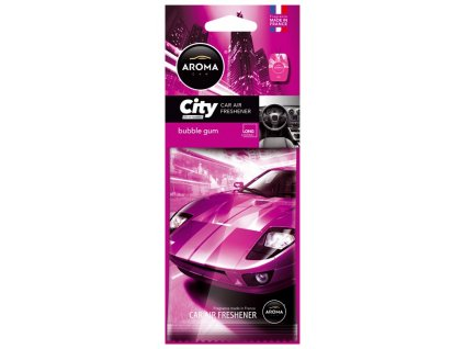 77072 2 osvezovac aroma car city bubble gum