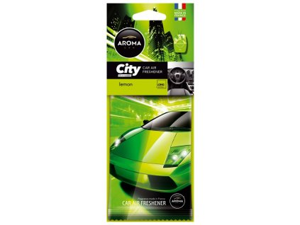 77075 2 osvezovac aroma car city lemon