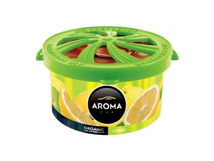 77225 1 osvezovac aroma car organic 40g lemon