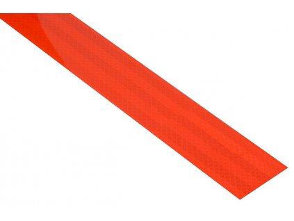 59795 6 samolepici paska reflexni 1m x 5cm cervena