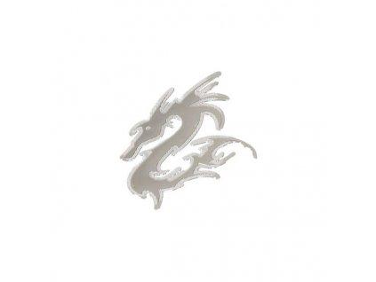 85473 znak big dragon samolepici metal maly