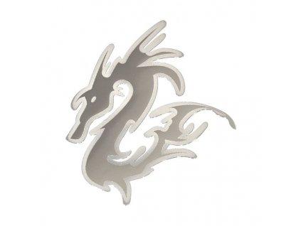 85443 znak big dragon samolepici metal velky