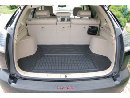 Gumový koberec do kufru Saab 900