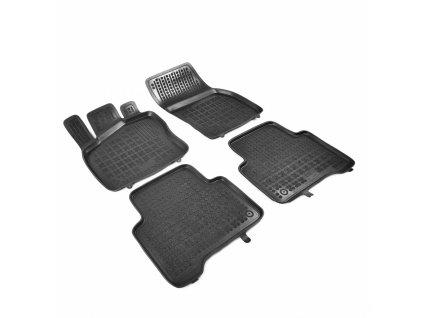 Gumové koberce VW TIGUAN II 2015- se zvýšeným okrajem