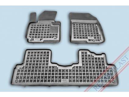 Gumové koberce Kia CARENS IV 2013- se zvýšeným okrajem