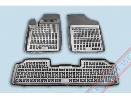 Gumové koberce Citroen BERLINGO 1997-2008 se zvýšeným okrajem