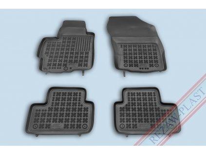 Gumové koberce Mitsubishi ASX 2010- se zvýšeným okrajem