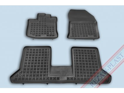 Gumové koberce Dacia DOKKER 2012- se zvýšeným okrajem