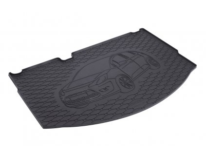 Gumová vana do kufru Citroen C3 2010- dojezdové kolo