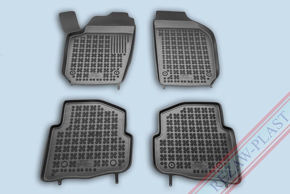 Rezaw Plast Gumové koberce VW POLO 2002-2009 se zvýšeným okrajem