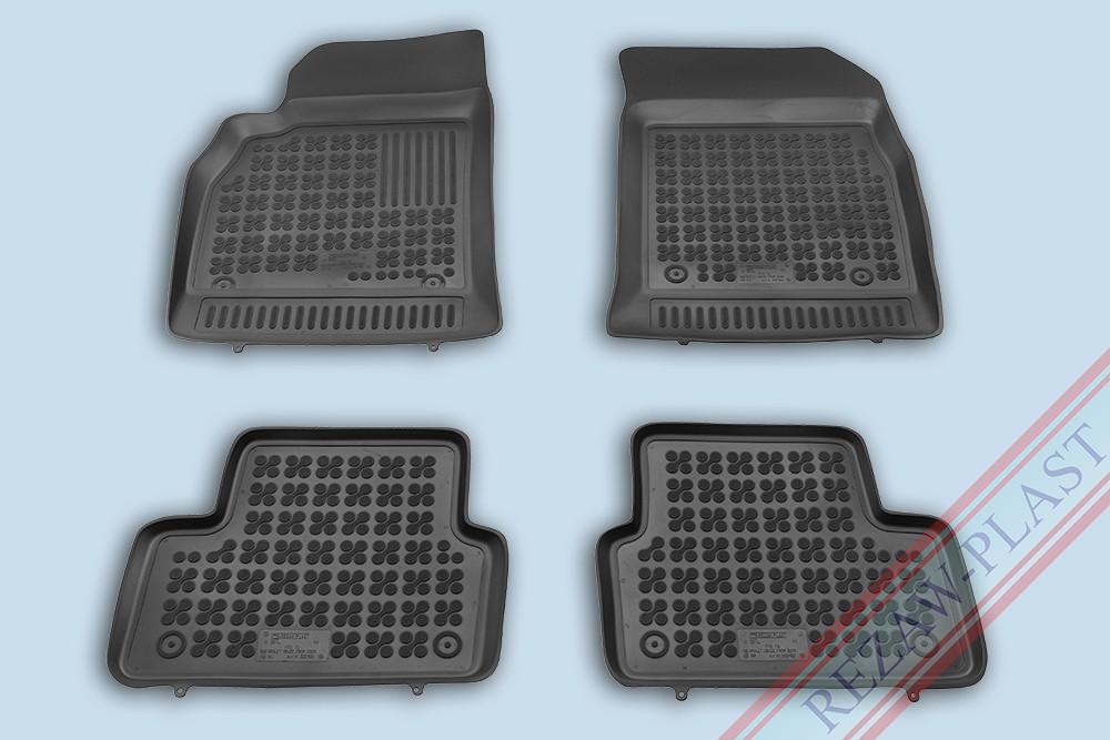 Rezaw Plast Gumové koberce Chevrolet CRUZE 2009- se zvýšeným okrajem