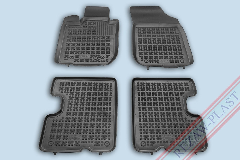 Rezaw Plast Gumové koberce Dacia LOGAN Sedan 2008-2013 se zvýšeným okrajem