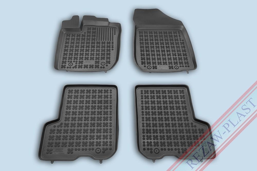 Rezaw Plast Gumové koberce Dacia LOGAN Sedan 2013- se zvýšeným okrajem