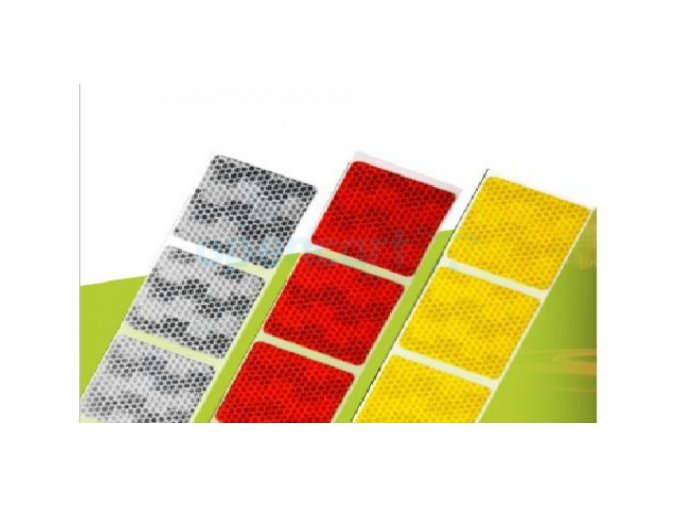 Reflexní páska na plachty- červená