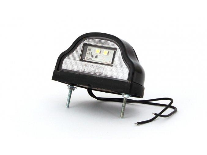 Osvětlení SPZ LED černé W72/408 12/24V
