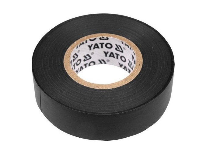 Páska izolační 19 x 0,13 mm x 20 m černá YT-8165