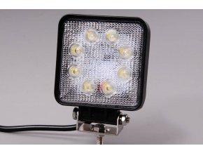 Světlomet LED 24W pracovní čtvercový 10-30V širokoúhlý