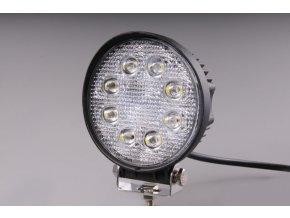 Světlomet LED 24W pracovní kulatý 10-30V rozptylový