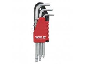 Klíč imbusový sada 1.5 - 10 mm CrV 9 ks Yato YT-0505