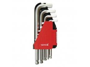 Klíč imbusový sada 2.0 - 12 mm CrV 10 ks Yato YT-0509