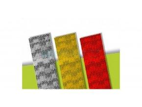 Reflexní páska na pevný podklad - bílá