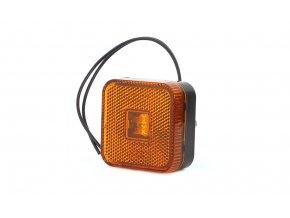 Pozička oranž.hranatá LED MAN W63/302