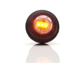 Obrysové světlo oranžové LED do otvoru W80/670
