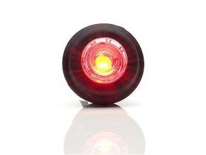 Obrysové světlo červené LED do otvoru W80/669