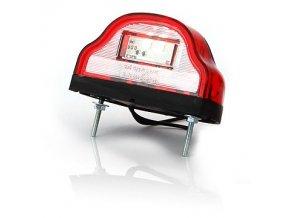 Osvětlení SPZ LED červené W72/409 12/24V
