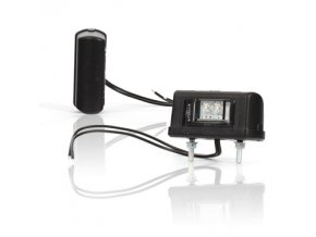 Osvětlení SPZ LED W52/244 -malé černé